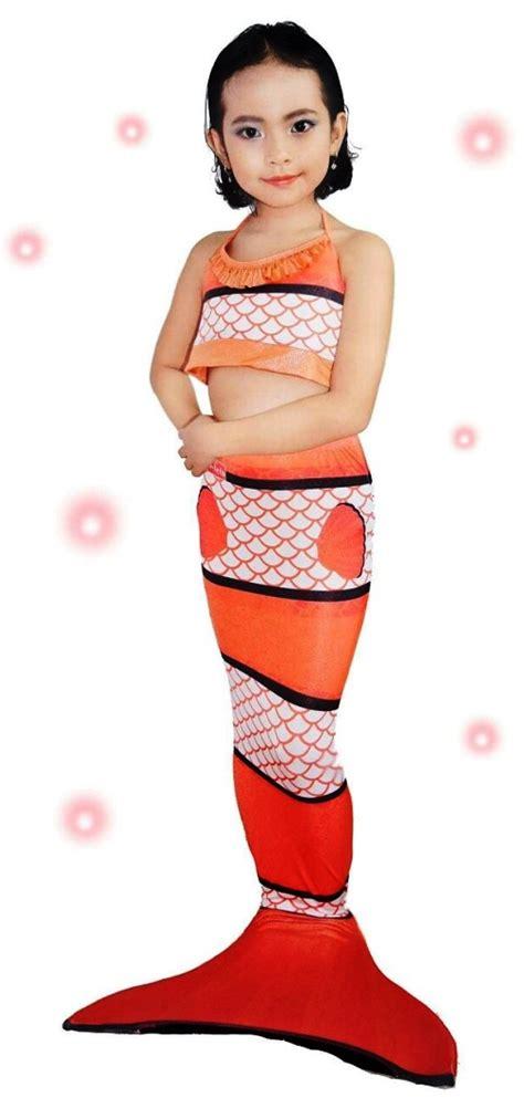 Baju Anak Baju Renang Mermaid Size S10 15 Kg Kostum Anak 1 baju putri duyung mermaid toko bunda