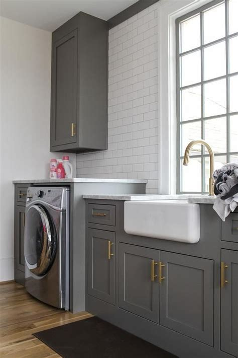 charcoal gray laundry room  images grey laundry