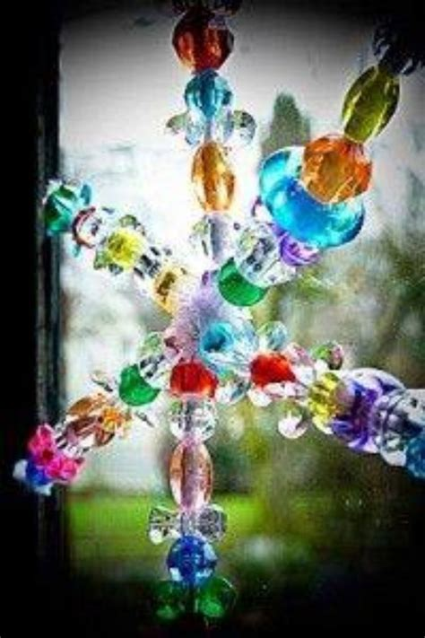 pipe cleaner bead ornaments pin by wood on craft ideas