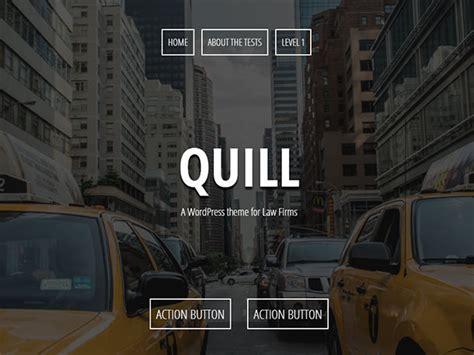 theme wordpress quill 10 free one page wordpress themes 2015 athemes