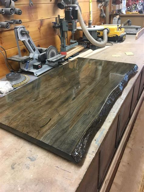 maple bar top custom spalted maple bar top saratoga county charlton ny
