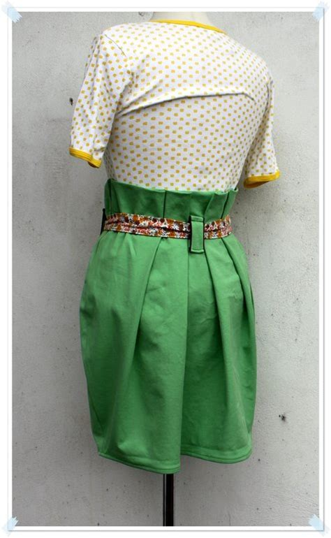 paper bag waist skirt pattern free green paper bag waist skirt sewing projects burdastyle com