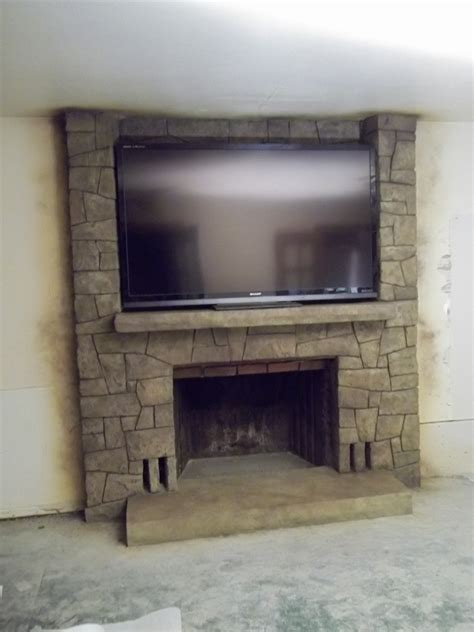 Fireplace Forum by Fireplace Remodel The Vertical Artisans Forum