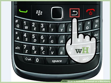 how do you reset voicemail password on blackberry how to activate voicemail on a blackberry with pictures