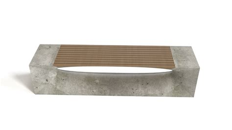concrete benches bench concrete wood flyingarchitecture