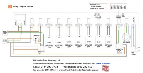 continental underfloor heating wiring diagram wiring