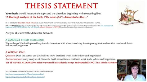 thesis statement translation book analysis part 5 6 how to formulate a correct thesis