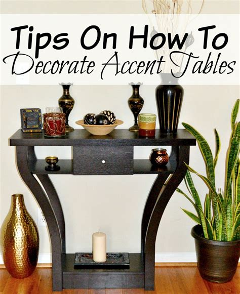 how to decorate a side table in a living room tips on how to decorate accent tables miss frugal