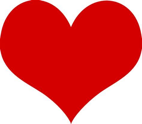 clipart stylish red heart single heart clipart