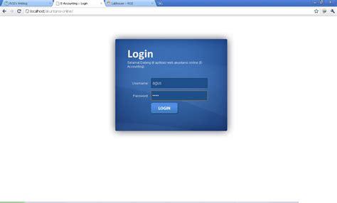 membuat aplikasi login dengan php membuat situs akuntansi online e accounting dengan php