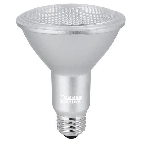 feit electric led light bulbs feit electric 75w equivalent warm white 3000k par30l