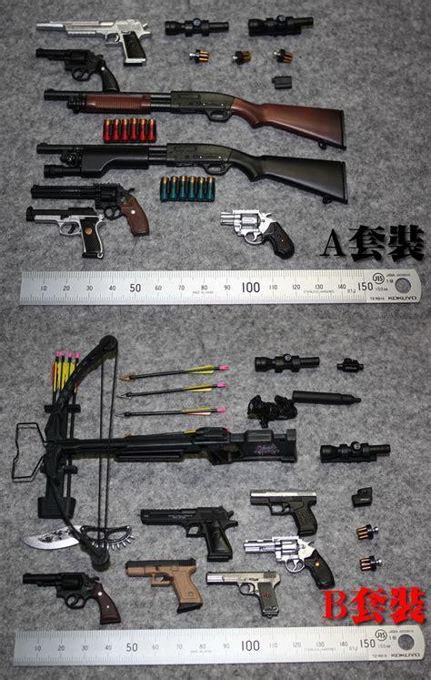 6 figure weapons free shipping 1 6 figure shotgun arrow set weapon