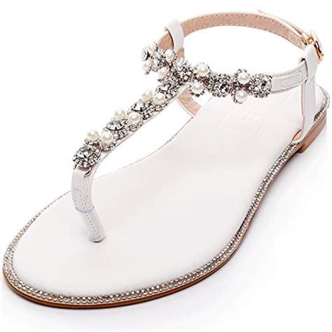 braut sandalen flach bridal flat sandals wedding www pixshark images