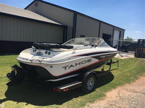 used tahoe boats in oklahoma used tahoe q4i boats for sale boats