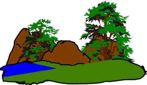 Free Forest Clipart green forest clip at clker vector clip royalty free domain