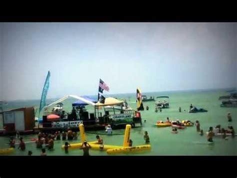 boat rental crab island destin fl crab island destin fl boat rental sunventure cruises in