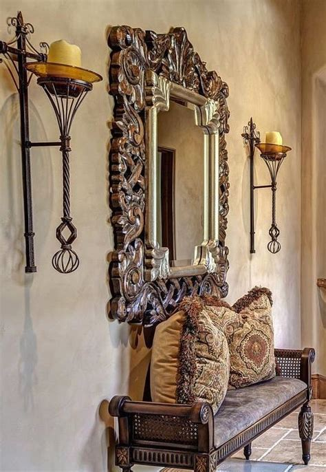 foyer table tuscan style decorating entry foyer 1000 ideas about mediterranean decor on pinterest
