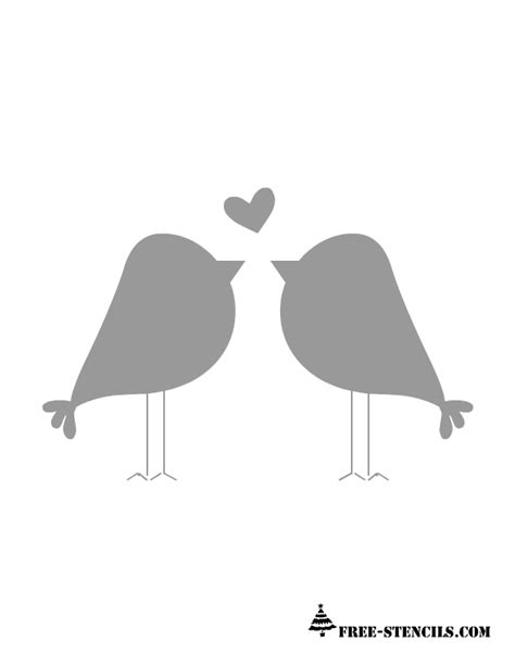 printable wall stencils birds free printable valentine stencils