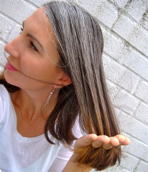 highlighting hair to transition to gray 17 best ideas about gray hair transition on pinterest