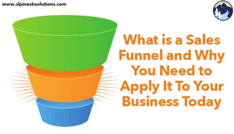 what is a sales funnel and why you need to apply it to