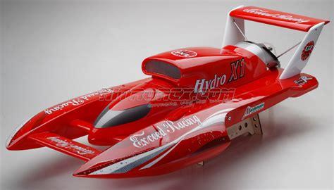 nitro rc hydroplane boats exceed racing fiberglass hydro x1 26cc gas powered artr