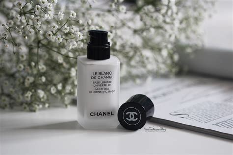 Le Blanc De Chanel Primer le blanc de chanel multi use illuminating base review ms