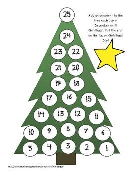 printable christmas tree countdown christmas countdown 4 super cute printable ways to count