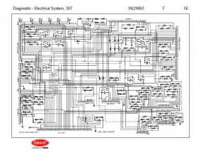 after oct 14 2001 5 peterbilt 387 complete wiring diagram schematic