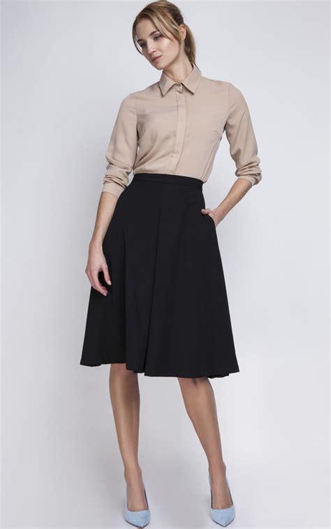black midi skirt silkfred