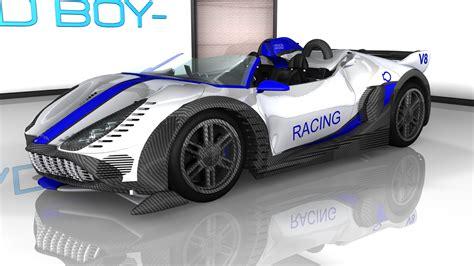 Handmade Sports Car - custom sports car racing v3 by badboy2kxxx on deviantart