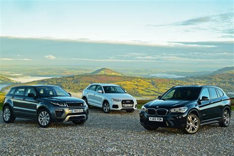 Bmw X1 Vs Range Rover Evoque Vs Audi Q3 Auto Express