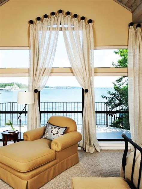 arch window ideas images  pinterest curtains