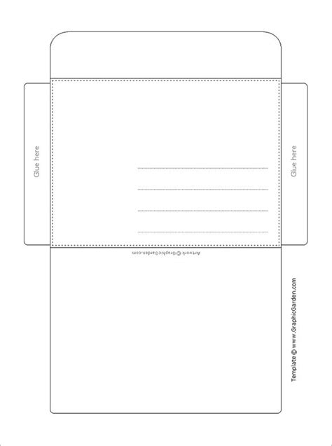 printable envelope template pdf envelope template 68 free printable psd pdf eps word
