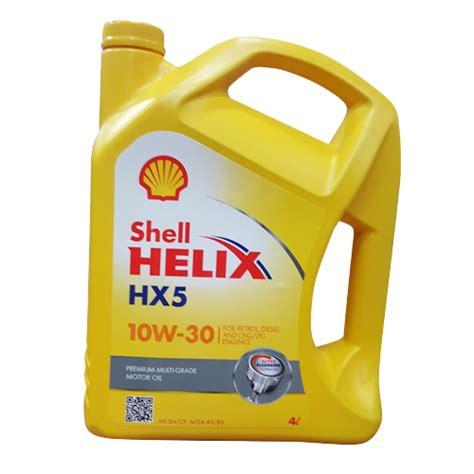 Shell Helix Hx5 shell helix hx5 10w 30 4l by greasemonkey lk