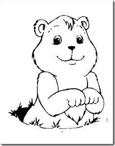 groundhog coloring pages free printable images amp pictures becuo