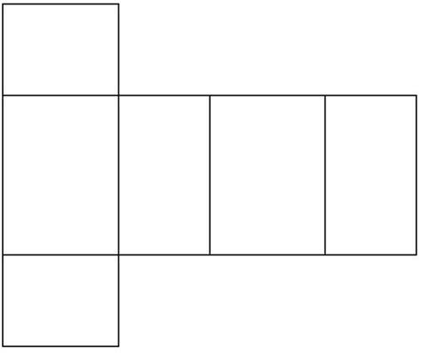 net pattern for square prism rectangular prism net www pixshark com images