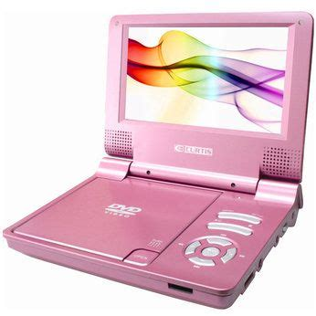 Halohalo Portable Voice Lfier 7 quot pink portable dvd player with car kit pink gadgets clever products cars pink