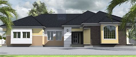 4 Bedroom Bungalow Architectural Design House Plans And Design Architectural Designs For 4 Bedroom Bungalow