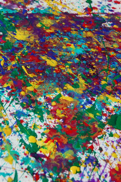 no need for a splash of paint jackson pollock s tiny old new york paintings messy outside making splatter paintings