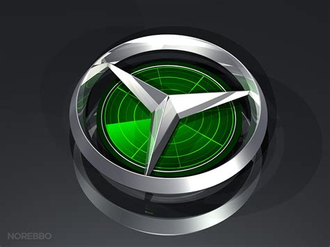 logo mercedes benz 3d automotive norebbo