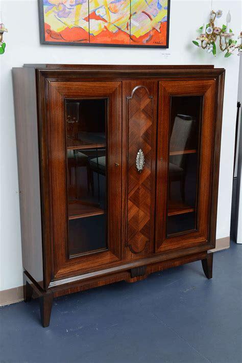 Vitrine Display Cabinet by Deco Display Cabinet Vitrine In Rosewood