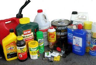 dangerous household chemicals environmental toxins and poisons