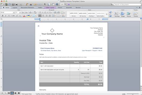 how to make an invoice template in word how to make professional invoices in a word processor
