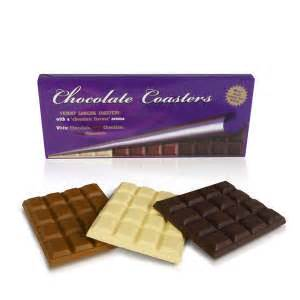 Chocolate Coaster It Or It by Chocolate Smelling Coasters Iwoot