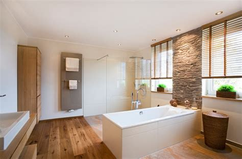 spiegelschrank rustikal badideen mit holz