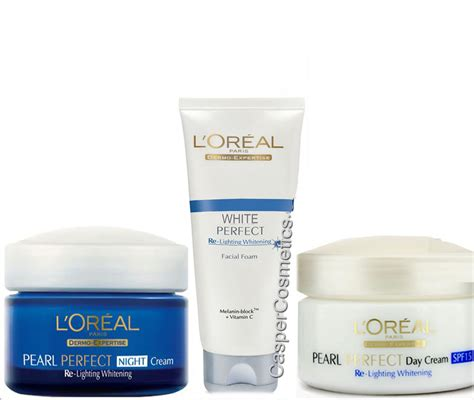 loreal white re lightening whitening foam