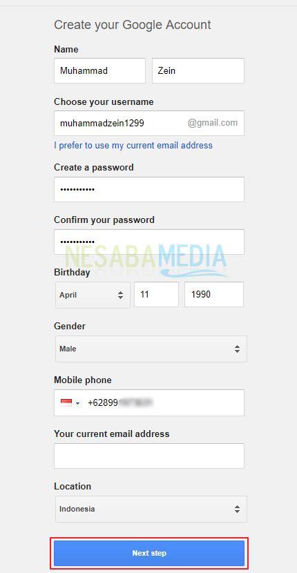 membuat email google dari hp cara membuat akun google dari hp android pc terbaru 2018