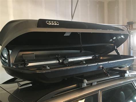 Audi Zubehor by Audi Zubehor 8k0071200 Medium Roof Box 405ltr