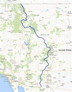 continental divide map colorado continental divide trail warrior hike quot walk the war