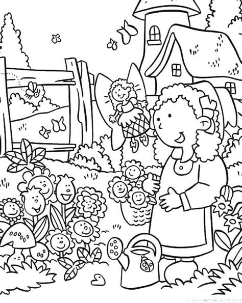 Flower Garden Coloring Pages 90 Coloring Pages Flower Garden Lifes A Garden Free